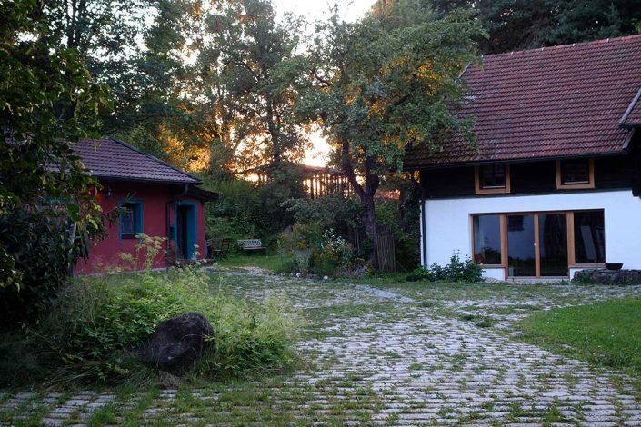 Innenhof-Ausschnitt